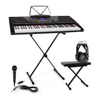 Etude 255 USB Lern-Keyboard Set Kopfhörer,Keyboard-Stand & Sitzbank