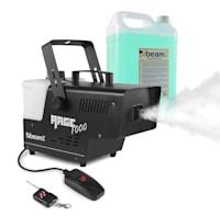 Rage 1000, uređaj za stvaranje magle, uključujući tekućinu za maglu, 1000 W, 125 m³ / min.