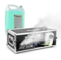 F1600, stroj za dim, uključujući tekućinu za maglu, 1600 W, 350 m³, DMX, Master / Slave