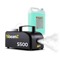 S500 New Edition, výrobník mlhy, včetně mlžné kapaliny, 500 W, 50 m³/min