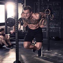 Anneaux de gym