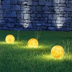 Sisteme iluminare grădină