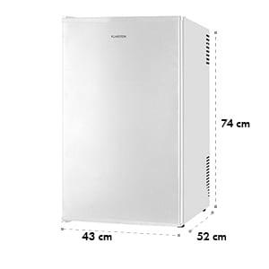 MKS-6 Minibar Mini-Kühlschrank Zimmerkühlschrank Klasse A 66L hellgrau