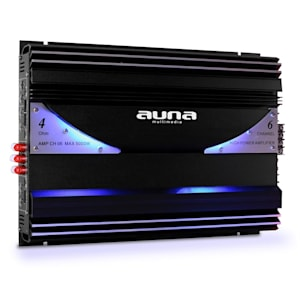 AMP-CH06 6-Kanal-Verstärker Auto-Endstufe 570W RMS 5000W max.
