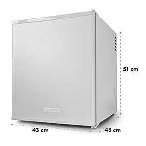 Klarstein HEA-MKS-8, Minibar, 40 l, biely