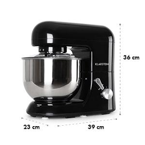 Bella Nera, kuhinjski aparat, 1200W, črni