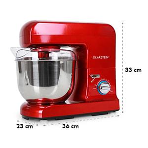 Gracia Rossa keukenmachine 1000W rood