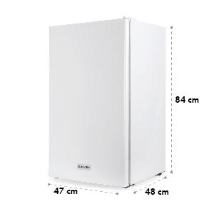 Klarstein 90L1-WH, chladnička, 90 l, trieda A+, s mrazničkou
