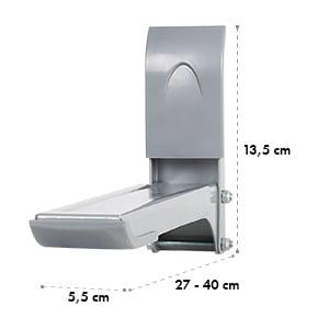 Auna MB-4 magnetronhouder tot 35kg magnetronhouder zilver
