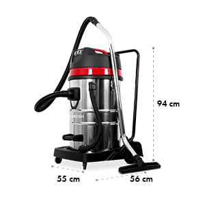 IVC-80 Wet and Dry Vacuum 3000W 80L