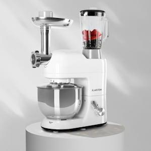 Lucia Robot ménager 3-en-1 2000 W / 2,7 ch 5 l Acier inoxydable sans BPA