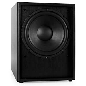 "Line 300-SW-BK Active 10"" Subwoofer 250W - Black Wood"