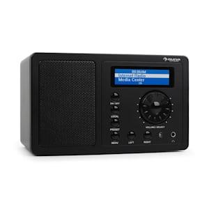 IR-130 internetradio nera streaming W-LAN