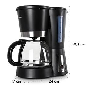 Sunday Morning macchina da caffè nera 900W 1,2L