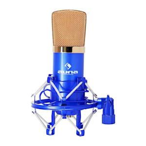 CM001 Professional Condenser Microphone Studio XLR Blue