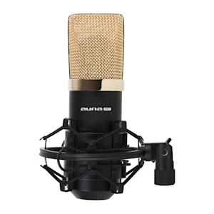 MIC-900BG USB microfono a condensatore nero/oro