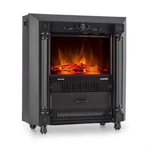 Grenoble Cheminée électrique chauffante radiateur soufflant 1850w -noir