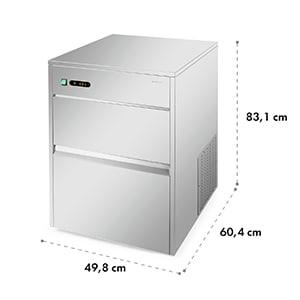 Machine à glaçons industrielle 260W 50kg/jour