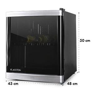 Beerlocker Mini réfrigérateur à boissons minibar 46L classe B - noir