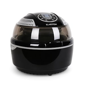 VitAir Hot Air Fryer grill and bake 9 litre Black Grey
