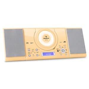 MC-120 impianto stereo MP3 USB color crema