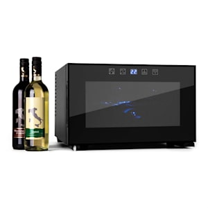 Klarstein Reserva Piccola, 8 бутилки, 25 л., хладилник за вино