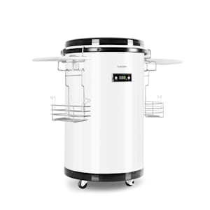 Klarstein Mr. Barbot, хладилник, 50 л, от неръждаема стомана