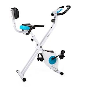 Azura M3 fiets-hometrainer rugleuning zijbeugels opvouwbaar 100kg
