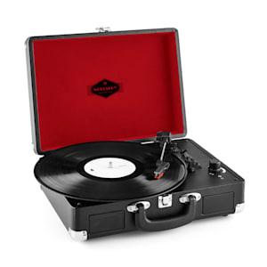Peggy Sue Retro-Plattenspieler LP USB schwarz
