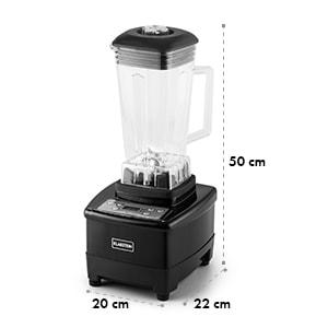 Herakles 4G Mixeur blender sans BPA 2L 1500w 35000t/mn -noir