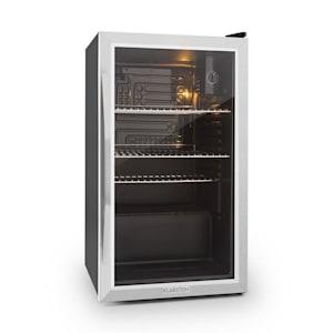 Klarstein Beersafe XXL kylskåp 80 liter klass A+ glasdörr rostfritt stål