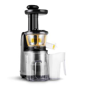 Fruitpresso Nero II, gyümölcsprés, lassú prés, 150 W, 80 ford./perc, rozsdamentes acél