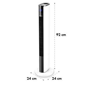 Skyscraper 3G Turmventilator 48W Luftdurchsatz 1.633 m³/h Touchpanel Fernbedienung weiß