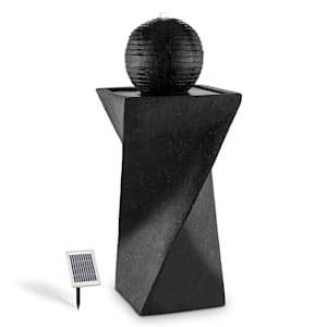 Schönbrunn Sphere Fountain Solar 200 l / h LED Basalt