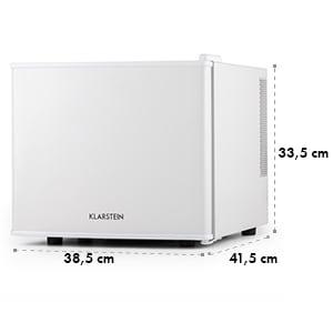 Klarstein Geheimversteck, bílá, 17 l, 50 W, A +, minibar, mini lednička