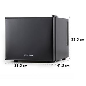 Geheimversteck Minibar mini réfrigérateur 17l 50W A+ - noir
