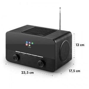 Connect 150 BK 2.1 Internet Radio Lettore USB WLAN DAB + FM