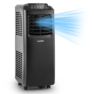 Klarstein Pure Blizzard 3 2G siirrettävä ilmastointilaite 7 000 BTU/2,1 kW musta
