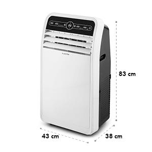 Metrobreeze 9 New York City climatiseur mobile 9000 BTU/2,6 kW blanc