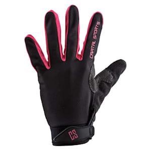 Nicetouch S Pink Sporthandschuhe Trainingshandschuhe Kunstleder