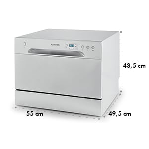 Amazonia 6 Tischgeschirrspülmaschine A+ 1380W 6 Maßgedecke 49 dB