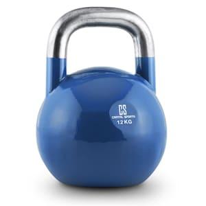 Compket 12 Competition Kettlebell Kugelhantel Stahl 12kg Blau