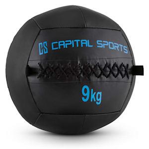 Epitomer Wall Ball 9kg Kunstleder schwarz