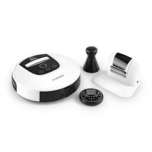 Klarstein Cleanhero Robotdammsugare Dammsugare Automatisk Fjärrkontroll vit