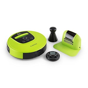 Klarstein Cleanhero Robotdammsugare Dammsugare Automatisk Fjärrkontroll Grön