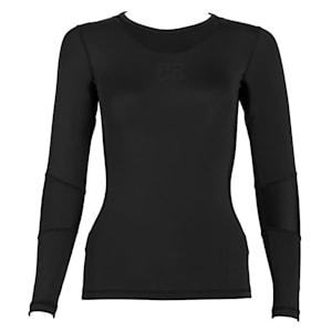 Beforce Camiseta de compresión con mangas Ropa funcional Mujer Talla L