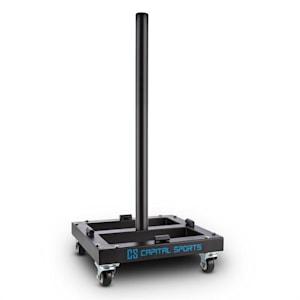 Compristar Gewichtsscheiben-TrolleySchwerlastrollen 300 kg max.