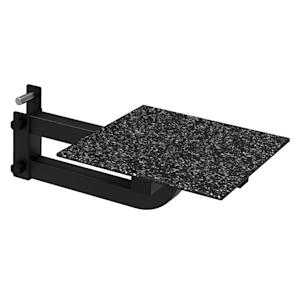 Rackstep Plattform Stufe Metall Rack-Montage max. 200 kg schwarz
