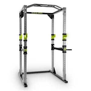 Tremendour Power Rack Homegym Stahl grün