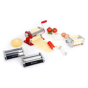 Siena Rossa Máquina de pasta 3 accesorios Acero inoxidable Rojo